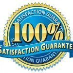100% Guarantee Button