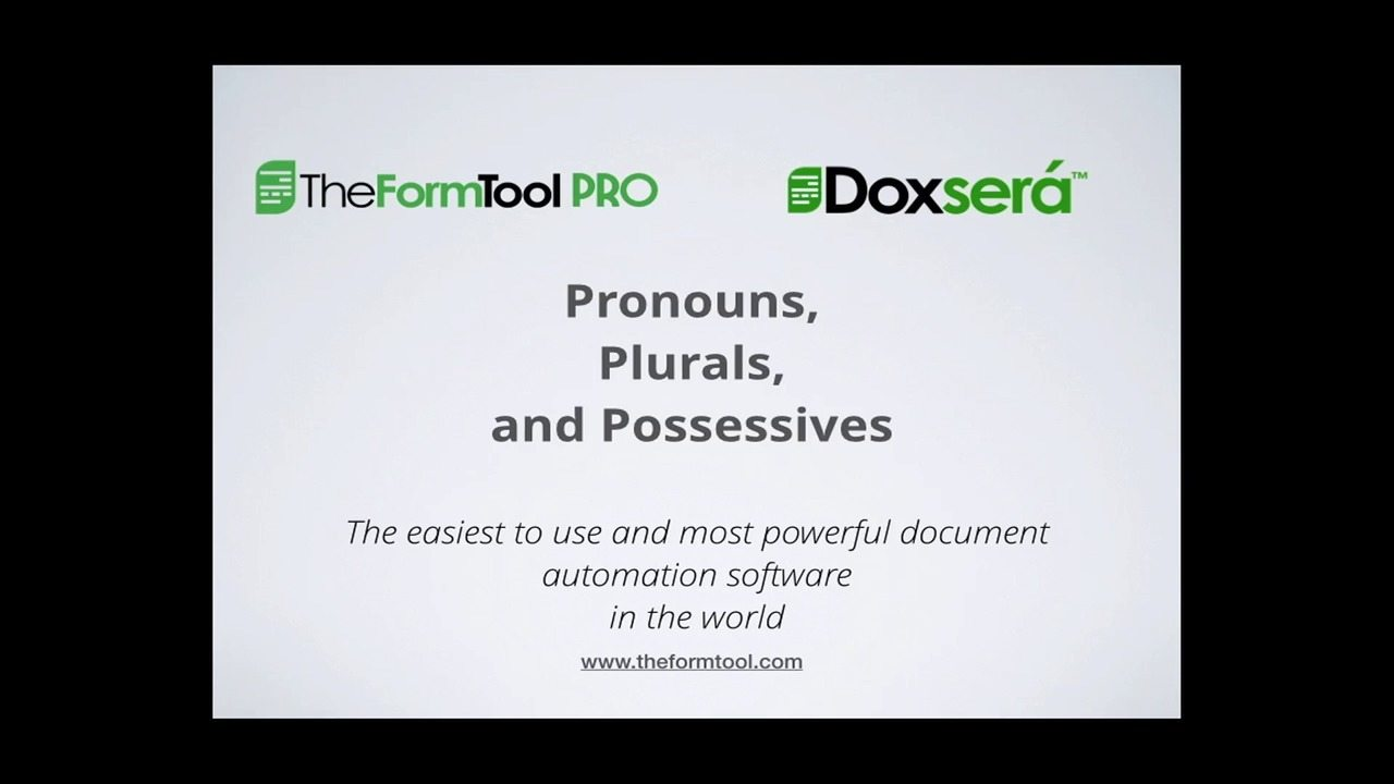TheFormTool | Video thumbnail for wistia video Pronouns